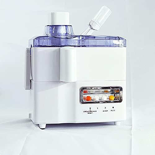 Batidora - Licuadora 380 W, 8-Cuchillas Afiladas, para batidos, salsas, limpieza fácil y 1L - Bajo Nivel de Ruido, Fácil de Limpiar White