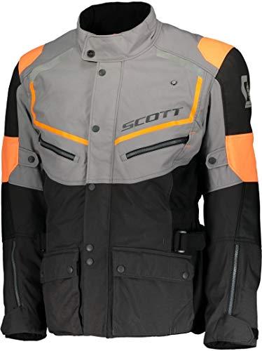 Scott Turn ADV DP Motorrad Jacke grau/orange 2018: Größe: XXL (54/56)