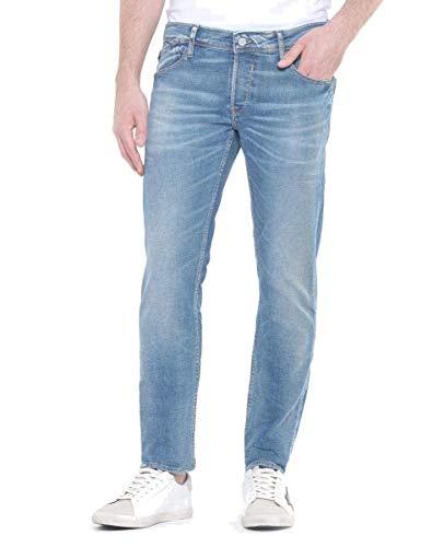 Le Temps des Cerises Herren Jh711baswt476 Jeans Slim fit, Blau (Blue 3001), W34 (Herstellergröße: 34)