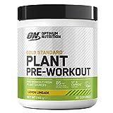 Optimum Nutrition ON Gold Standard Plant Pre-workout, Veganes Pre-Workout Pulver mit Koffein, Lemon Limeade, 30 Portionen, 240 g
