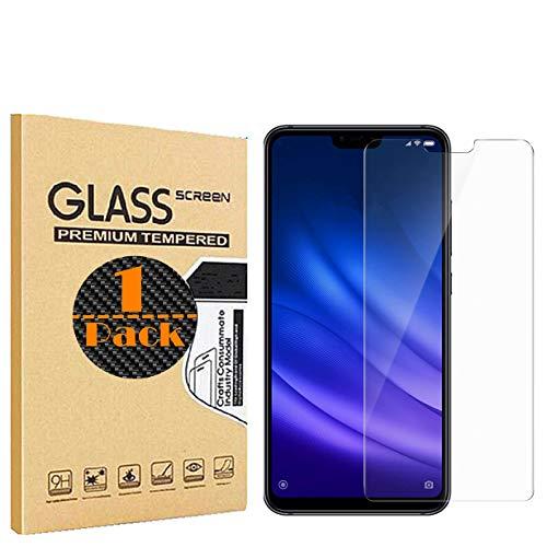 RUIST 9H Dureza [Alta Sensible] Cristal Vidrio Templado [Alta Definición] Protector Pantalla para Xiaomi Mi 8 Lite