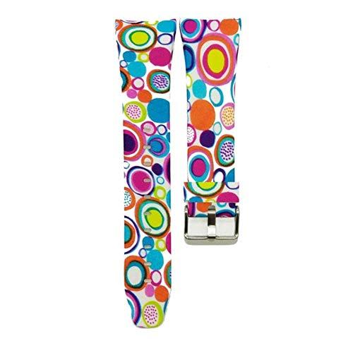 XCHJY Guardano Cinturini in Gomma Silicone Sport Cinghia for Samsung Gear Fit 2 SM-R360 Braccialetto di Sostituzione del Cinturino da Polso Intelligente Banda