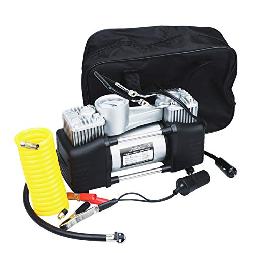Cabilock Compresor de Bomba de Aire Bomba Portátil 12V Inflador Deflador para Piscina de Barcos Neumáticos de Vehículos Inflables