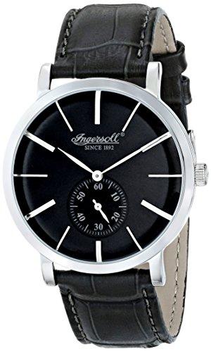 Ingersoll Reloj Hombre de Analogico con Correa en Cuero INQ012GYSL