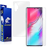 ArmorSuit MilitaryShield Full Body Skin Film + Screen Protector Compatible with Samsung Galaxy Note 10+ Plus (6.8 inch Display) - Anti-Bubble HD Clear Film