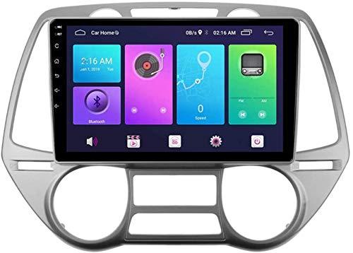 Automobile Android Android Android Stereo SAT NAV per Hyundai I20 2008 Unità principale GPS Sistema di navigazione GPS SWC 4G WiFi BT Link a specchio USB Careggia incorporato
