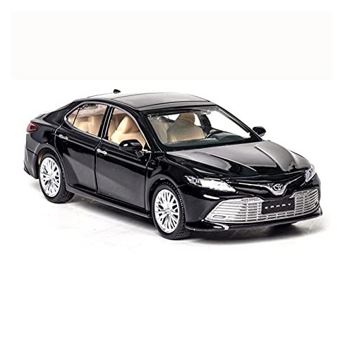 Kit Juguetes Coches Metal Resistente para Toyota Camry Vehículo Ligero Y De Sonido 1: 32 Modelo De Coche Coche De Simulación De Aleación Juguete Educativo Maravilloso Regalo (Color : Negro)