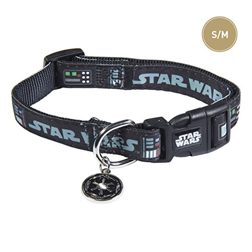 varken Life'S Little Moments hondenhalsband, middelgroot, Star Wars, officieel gelicenseerd product Dinsey Star Wars 75 g