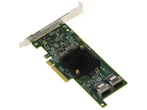 Scheda controller PCIe 3.0 SAS + SATA – 8 porte – Raid 0/1/10/1E – MegaRAID 9217 – 8I – Windows Linux Solaris VMware