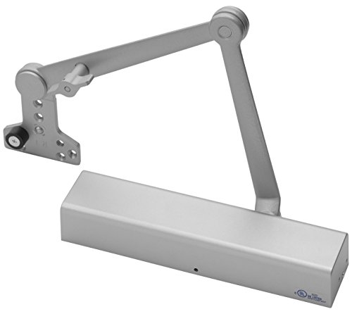 Yale 2721T x 689 Door Closers, 2700, Aluminum Body, 689 Painted Aluminum Finish, Hold Open with Stop Arm, Full Cover, Door Sizes 1 to 6