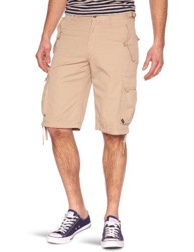 Bench Herren Sport Shorts Cargo Shorts Larklane beige (twill) 28