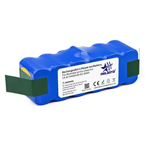 melasta xlife 4400mAh batería de iones de litio para Roomba serie 500 600 700 800 510 520 530 531 532 540 550 555 560 570 580 595 620 650 630 631 660 760 770 780 775 790 870 880