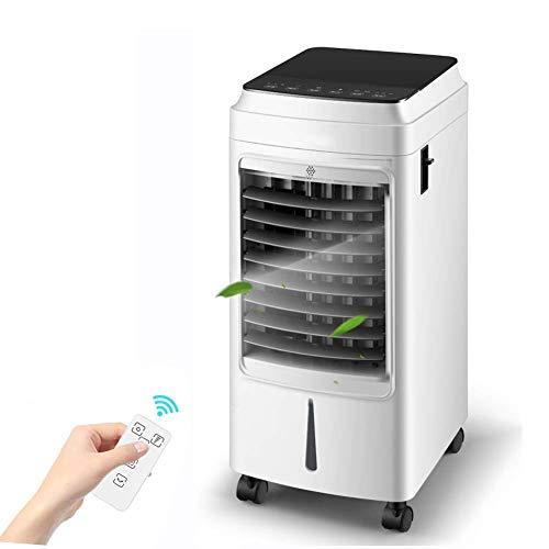 BDwantan Ferngesteuerter Lüfter der Klimaanlage, einstellbare Luftgeschwindigkeit Luftbefeuchter Verdunstungskühler, l Wassertank, Fernwinkel-Luftversorgungsfernbedienung (Color : Fernbedienung)