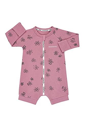 Bonds Baby Wondercool Eyelet Jersey Zippy - Long Arm Short Leg, Daisy Daze Windflower, 00 (3-6 Months)