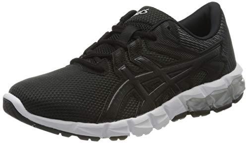 Asics Gel-Quantum 90 2, Zapatillas para Correr Mujer, Gris Grafito/Negro, 37.5 EU