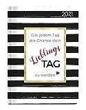 Minitimer Style Lieblingstag 2021 - Taschen-Kalender A6 - Weekly - 192 Seiten - Notiz-Buch - mit Info- und Adressteil - Alpha Edition