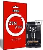 ZenGlass Nandu I Protector de Vidrio Flexible Compatible con DeLonghi Magnifica S ECAM 22.110 I...