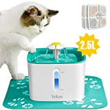 Best Cat Fountains - Veken Cat Water Fountain, 2.5L Automatic Pet Water Review