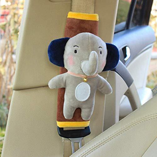 Gurtschutz Auto Schulterschutz Kinder Sicherheitsgurt Abdeckung Autositz Schulterpolster Baumwolle Gurtpolster Anti Reibung Schulterkissen Kinderautositz Schulterschutz für Kinderwagen Babyschale