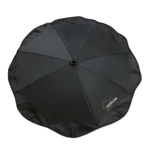 Gesslein 805178000 Sonnenschirm, Universalhalterung, Rund oder Ovalrohr, schwarz