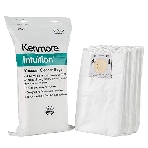 Kenmore Intuition IB600 HEPA Dust Bag Replacement Upright Vacuum Cleaner Bags for BU4022