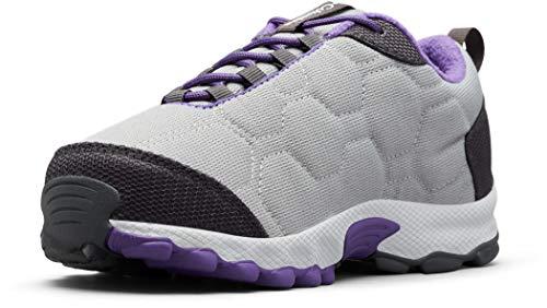 Columbia FIRECAMP SLEDDER 3 Zapatos multideporte impermeables para niños, Gris(Monument, Emperor), 32...
