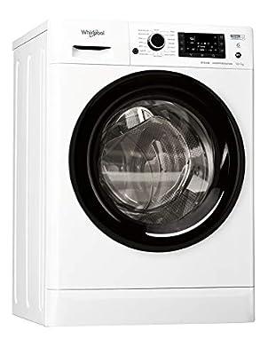 Whirlpool FWDD1071682WBVUKN Freestanding Washer Dryer, 10/7kg, 1600 rpm, White