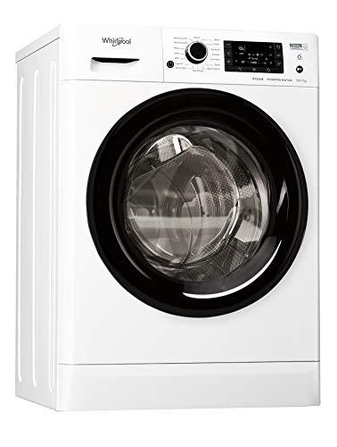 Whirlpool FWDD1071682WBVUKN Freestanding Washer Dryer, 10/7kg, 1600 rpm,...