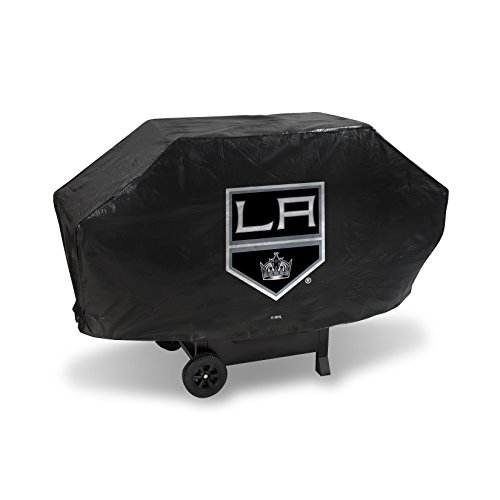 """NHL Los Angeles Kings Deluxe Grill Cover, Black, 68 x 21 x 35"""""""