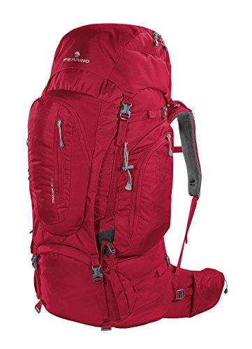 Ferrino Transalp 60, Zaino da Hiking Unisex, Rosso, 60 L