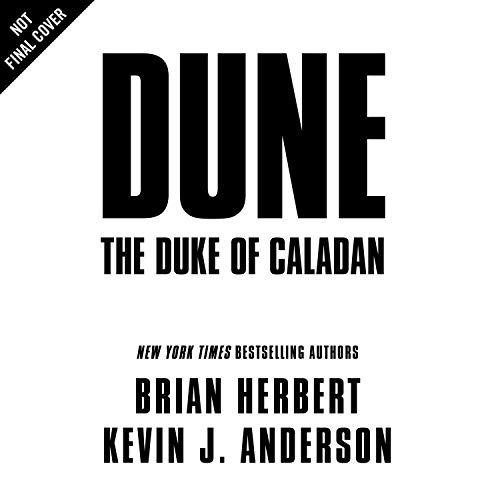 Page de couverture de Dune: The Duke of Caladan