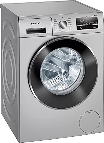 Siemens 8 kg Fully Automatic Front Load with In-built Heater Silver(WM14J46SIN)