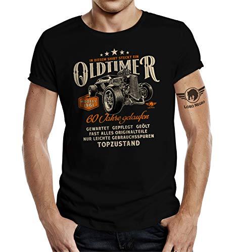 Geschenk T-Shirt zum 60. Geburtstag - Oldtimer Baujahr 1961 Hot Rod XL