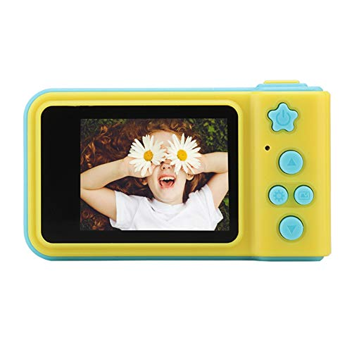 Cute Toy Camera Video Cartoon Gift Large Capacity for Boys Girls(Blue)