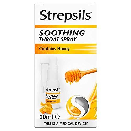 Strepsils Soothing Throat Spray, 20ml