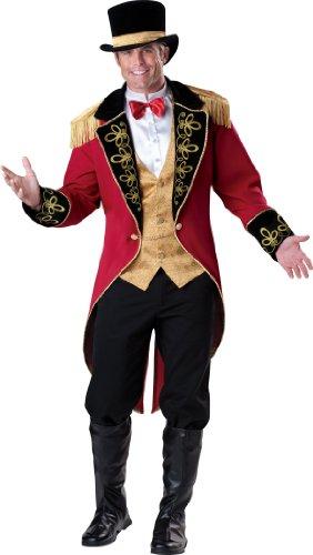 Unbekannt InCharacter Costumes Herren Zirkus-Kostüm Ringmaster - Mehrfarbig - X-Large