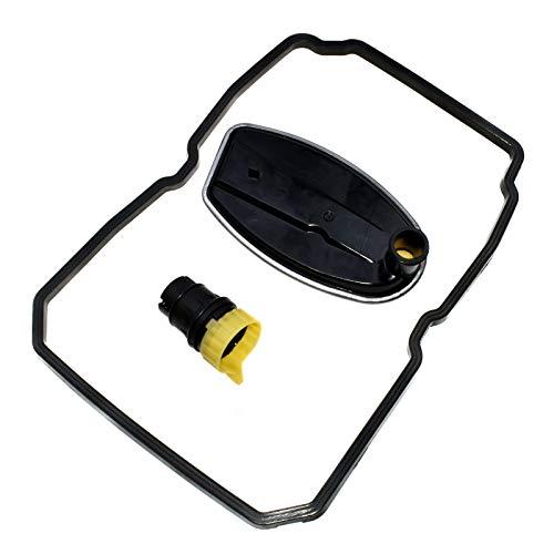 eGang Auto Nouveau Filtre de Transmission + Joint + Prise d'adaptateur de connecteur 13Pin 1402770095,1402710080,2035400253 pour Mercedess C230 C280 C320 E320