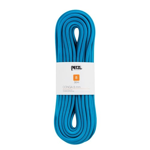PETZL–Conga 8mm, Colore: Blue, Taglia 8mm x 20m