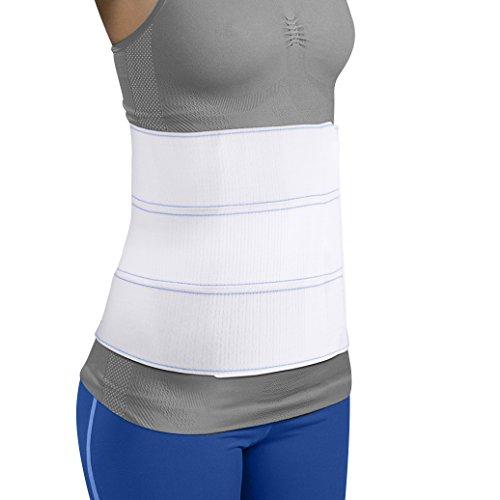 Mars Wellness Premium Plus Size Bariatric Abdominal Binder - 9 3 Section/Panel - Bariatric Binder Abdominal Brace for Men or Women - 3XL - Waist Size 55 - 72