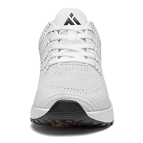 Mishansha Zapatillas Deportivas de Mujer Aire Cordones Calzado de Deporte Transpirable Antideslizante Zapatos Running para Correr Caminar Trabajar Fitness Sneakers 36-42