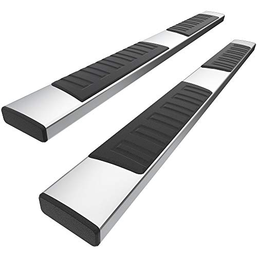 YITAMOTOR 6 Inches Running Boards Compatible with 2009- 2014 Ford F150 Super Crew Cab Side Step Nerf Bar