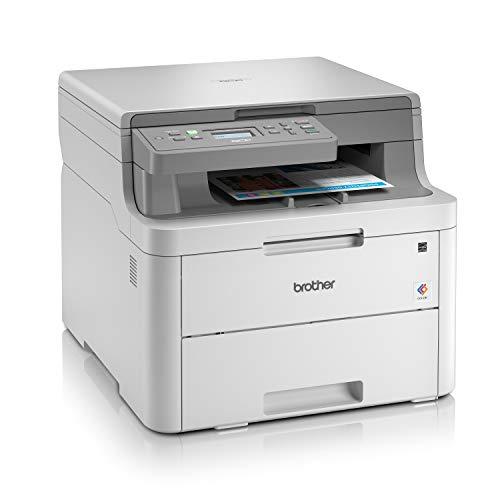 Brother DCP-L3510CDW - Impresora multifunción (Wifi, USB 2.0, 512 MB, 800 MHz, 18 ppm, 400 W) blanco