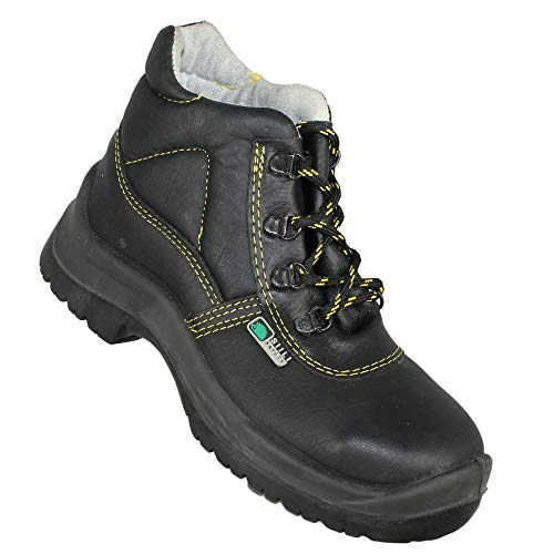 Siili Safety baustiefel s3 CI SRC Safety Boots Work Shoes Boots Black