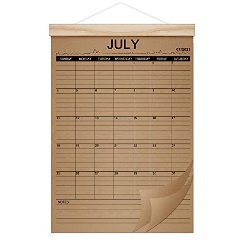 2021-2022 Calendar - 18 Months Desk & Wall Calendar Planner Jul 2021 - Dec...