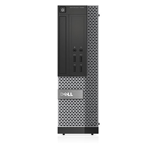Dell OptiPlex 7020 Desktop Computer (Intel Quad Core i7-4790 up to 4GHz, Small Form Factor) (Certified Refurbished)