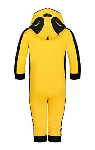OnePiece Unisex Baby Spieler Lazy, Gelb (Yellow) - 2