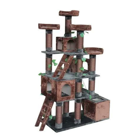"Big Horn Cat Tree, 81"" H. Best Choice for Your Pets. Kitty Posts. Cat's Stands. Best Cat Bed & Trees & Condos. Pet's Playground."