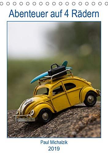 Abenteuer auf 4 Rädern (Tischkalender 2019 DIN A5 hoch): Miniaturautos in großen und großartigen Bildern (Planer, 14 Seiten ) (CALVENDO Mobilitaet)
