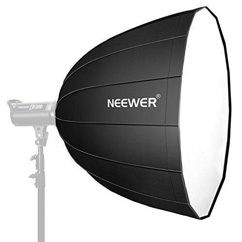 Neewer 120 cm tiefe Hexadecagon-Softbox - schnell zusammenklappbar mit Bowens Speedring und Diffusor für Neewer CB60 CB100 CB150, Aputure 300D II 120D und andere Bowens Mount Light