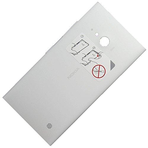 Nokia Lumia 730 originale NFC Copribatteria Bianco /Coperchio Della Batteria/Back Cover/Copri Batteria/Copribatteria
